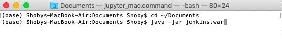 Java command