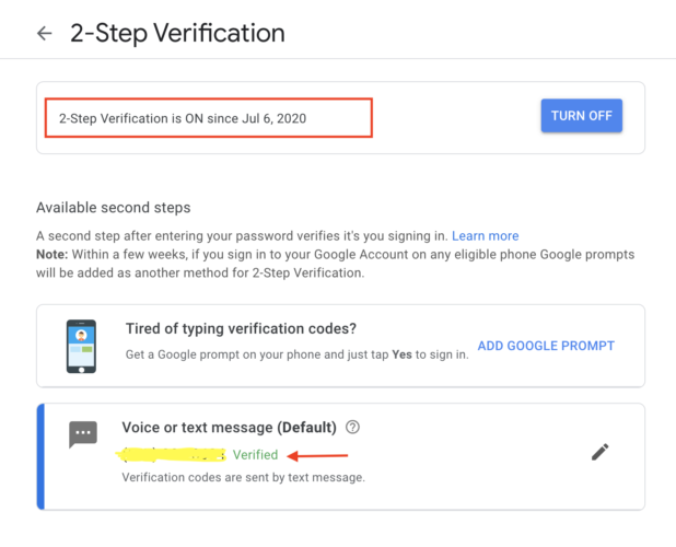 automate two-factor authentication using Selenium